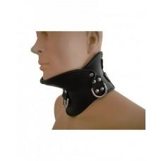 Bredt collar med hakestøtte