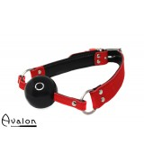 Avalon - QUIET - Gag med Sort Ball 40 mm