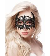 Ouch! Empress Maske med Blonder - Sort