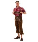 Oktoberfestkostyme - Lederhosen lang