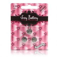 Sexy Battery - LR44 3 pk Batteri