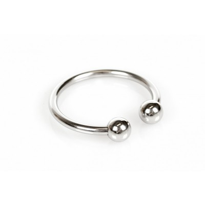 Horse Shoe Glans Ring - Penishodering med Kuler -  32 mm