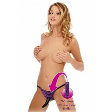 FF Series - Vibrating Strap-on lilla