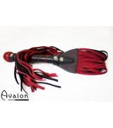 Avalon - Sverdformet flogger - Rød