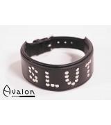 Avalon - Collar Slut - Sort