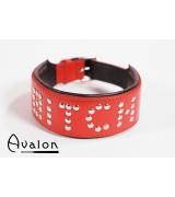 Avalon - Collar Bitch - Rød