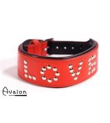 Avalon - Collar Love - Rød