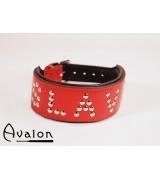 Avalon - Collar Slave - Rød
