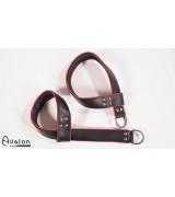 Avalon - Selvjusterende Suspensjoncuffs sort og rød