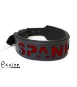 Avalon - I NEED YOU - Collar Spank me  - Sort og rød