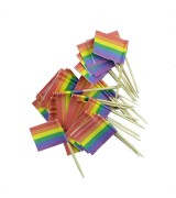 Pride - Cocktailflagg 50 pk