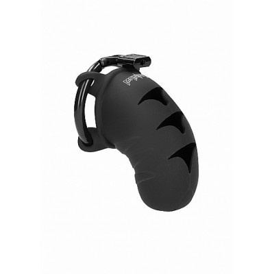 "Man Cage - Model 7 - Silikon Kuklås 3,1"" Transparent"