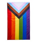 Progress Pride Flagg - 90 x 150cm