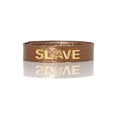 The Subjection Collar - SLAVE - Bronse