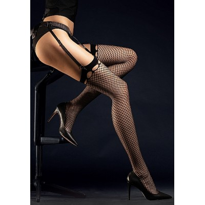 FiORE - Burlesque - Nettingstrømper 30 Den