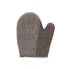 Touche – Dual Bath Glove – Badehanske – Taupe