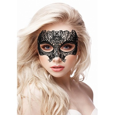 Ouch! Princess Maske med Blonder - Sort