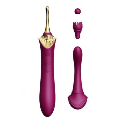 Zalo - Bess - Klitorisstimulator med flere hoder - Lilla