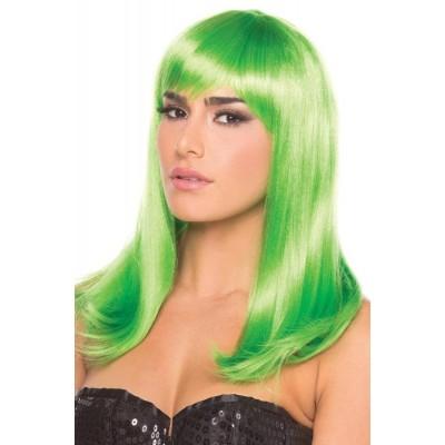 Hollywood parykk - Grønn