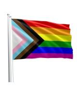 Progress Pride Flagg – 90 x 150cm