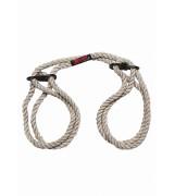 Hogtied - Blind & tie - 6 mm hap cuffs