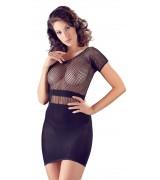 NO:XQSE - Kjole med nettingoverdel