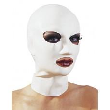 Latexmaske Hvit S-L