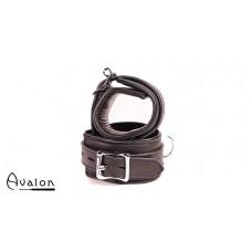 Avalon - CAPTURE - Håndcuffs i Lær - Sort