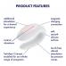 Satisfyer Double Joy - Parvibrator med app - Hvit