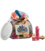 Pocket cocks - Lomme penis - Tilfeldig farge - 1 stk