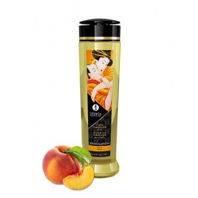Shunga - Stimulation Peach - Massasjeolje
